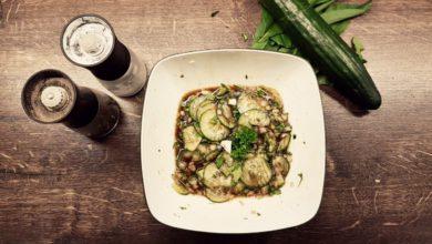 Photo of Gurken Salat – Omas Hausfrauen Art
