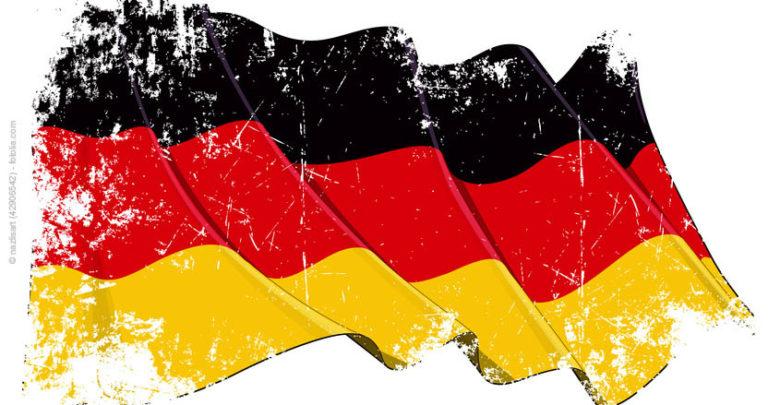 Deutschland Fahne - Flagge